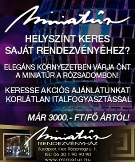 Miniatűr Rendezvényház Budapest
